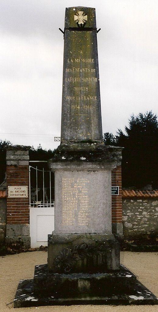 Monument aux Morts de la Ferté-St-Cyr